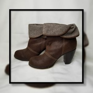 BKE Sole Folded Ankle Boot